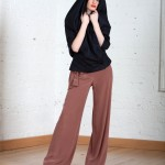 Ciara Jacket Drape Silk Trousers